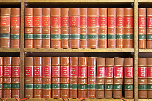 Legal documents or books