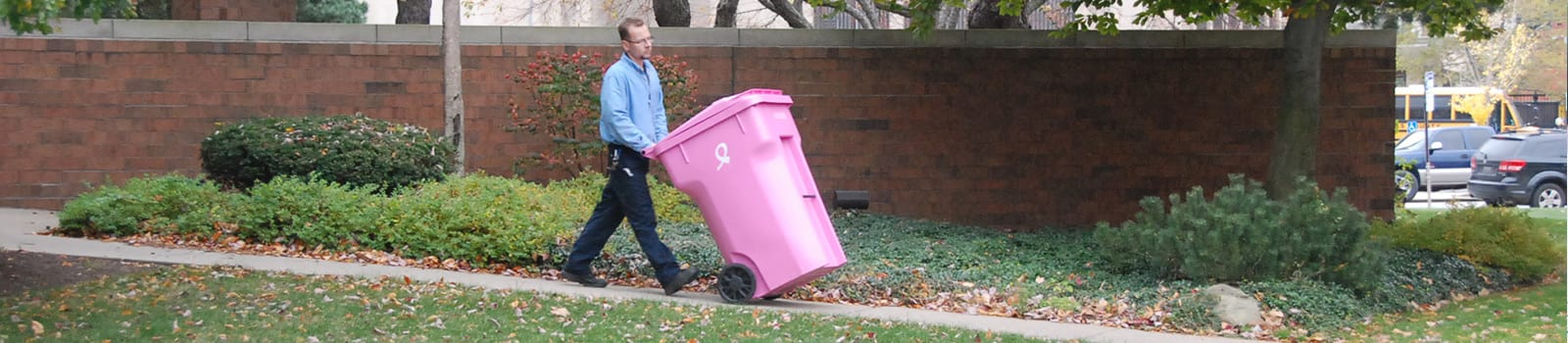 accushred pink bins
