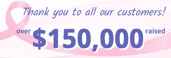$100,000 raised for Breast Cancer